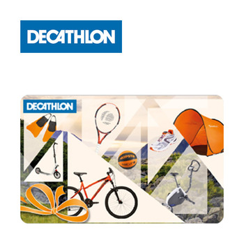 Carta regalo Decathlon