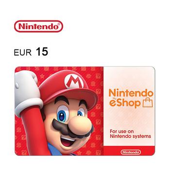 Carte cadeau Nintendo eShop de 15€