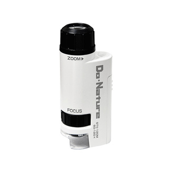 Trends Pocket 60x-120x Zoom LED Lights Built-in Compact Portable Microscope