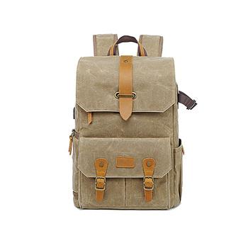 Trends Batik Canvas Waterproof Photography Backpack