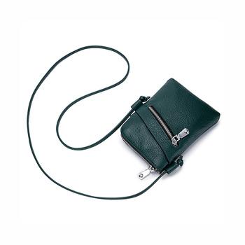 Trends Genuine Leather Causal Crossbody Bag