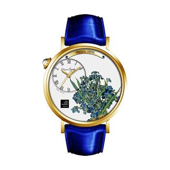 Van Gogh Irises Oil Painting Dial Ladies Watch