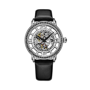 Stührling Winchester Automatic Skeleton Ladies Watch