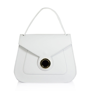 Emilio Masi Leather Flap Shoulder Bag