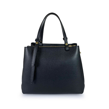 Emilio Masi Leather Tote Bag