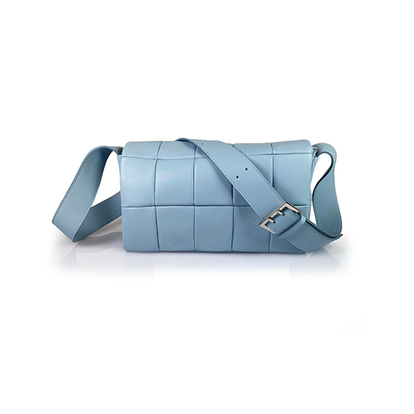 Lattemiele O-ring Flap Leather Shoulder BagImage