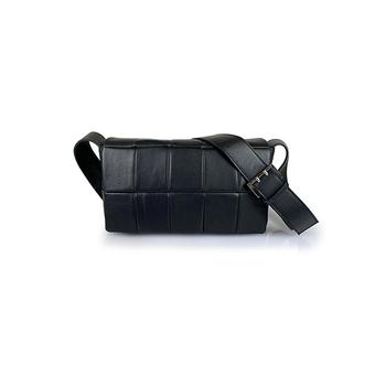 Lattemiele O-ring Flap Leather Shoulder Bag