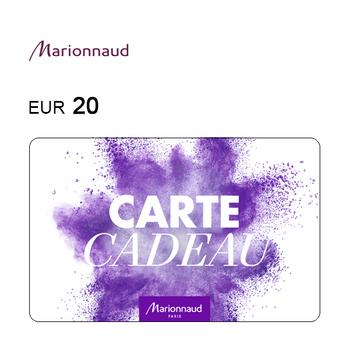 Carte cadeau Marionnaud de 20€