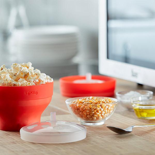 Lékué Popcorn Mini per microonde − set da 2 pezziImmagine