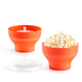 Lékué Popcornová mini do mikrovlnné trouby − sada 2 kusů