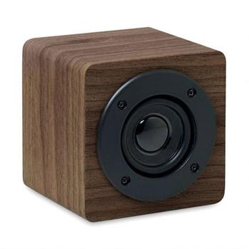 Enceinte Wireless 3W à effet bois − Sonicone