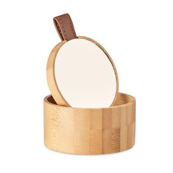 Treasure Bambusová šperkovnice s odnímatelným zrcátkem