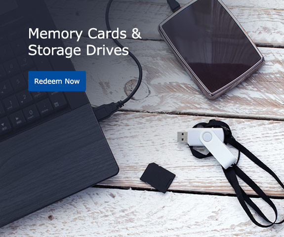 Memory Cards & Storage Drives