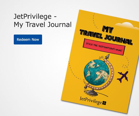 JetPrivilege - My Travel Journal