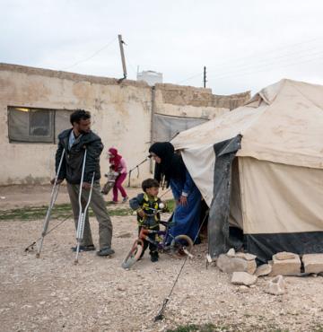 Helfen Sie Flüchtlingen aus Syrien